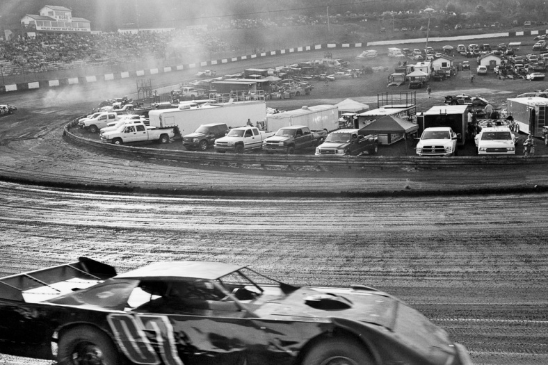 Stock Car and infield