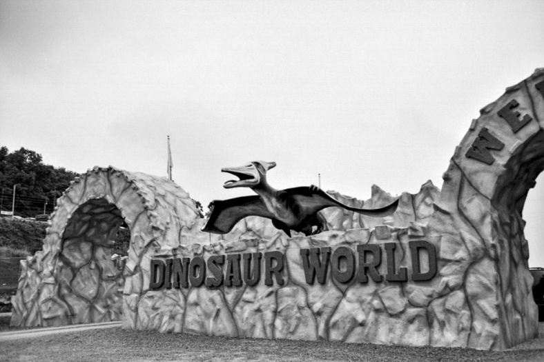dinosar world entrance